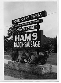 Four Oaks Farm Sign
