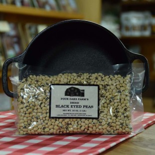 Dry Black Eye Peas 16 oz bag