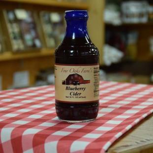 Blueberry Cider 16 oz bottle