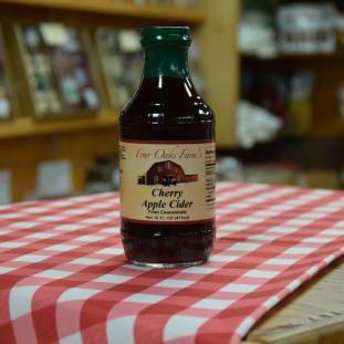 Cherry-Apple Cider 16 oz bottle