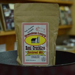 Grandma Lucy's Cracklin Cornbread Mix 12 oz bag