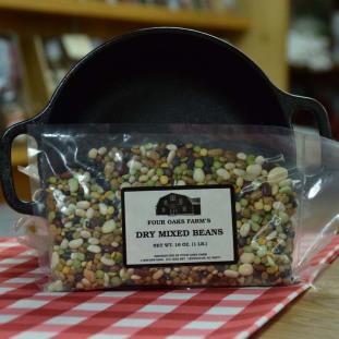 Dry Mixed Beans 16 oz bag