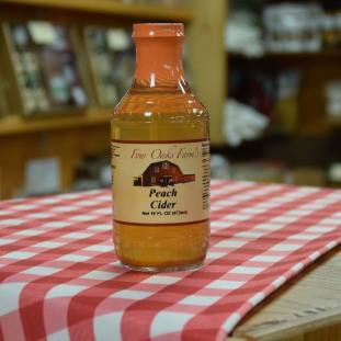 Peach Cider 16 oz bottle