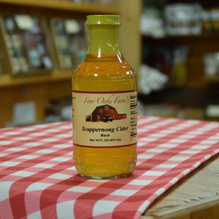 Scuppernong Cider 16 oz bottle