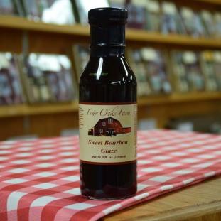Sweet Bourbon Glaze 12 oz
