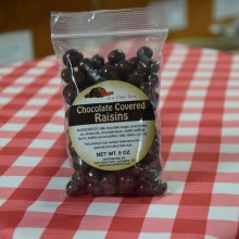 Chocolate Covered Raisins 8 oz