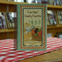 Four Oaks' Cookbook Gift Box