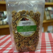 Natural Pecan HALVES 16 oz