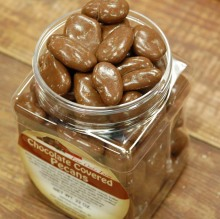 Chocolate Covered Pecans Canister
