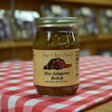 Hot Jalapeno Relish 16 oz