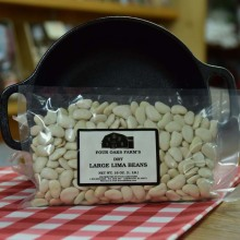 Dry Large Lima Beans 16 oz bag