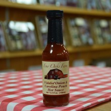 Carolina Peach Hot Sauce-SMALL-5 oz