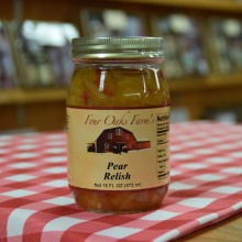Pear Relish 16 oz