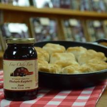 Rhubarb Raspberry Jam 10.5 oz