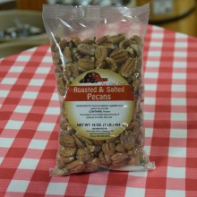 Roasted Salted Pecans 16 oz