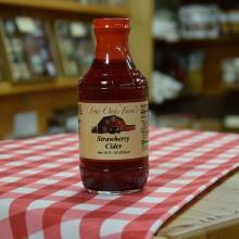 Strawberry Cider 16 oz bottle