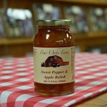 Sweet Pepper Apple Relish 11.5 oz