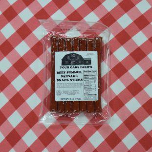 Beef Summer Sausage Snack Sticks 6 oz