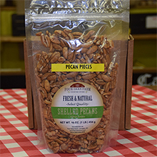 Natural Pecan PIECES 16 oz