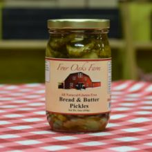 Bread & Butter Pickles 16 oz