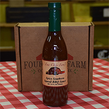 Spicy Southern Squeal BBQ Sauce 12 oz