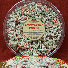 Christmas Tree Pretzels 24 oz