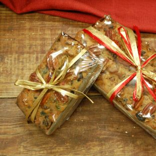 Holiday Fruit Cake 1 lb Gift Box