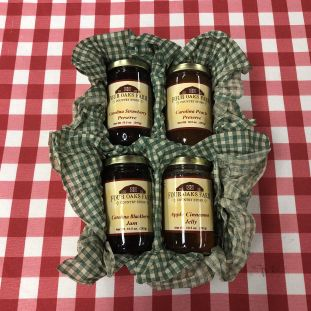 Country Preserves 4 Pack Gift Box